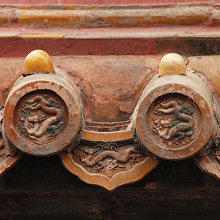 Roof Detail-Forbidden City-Beijing-China
