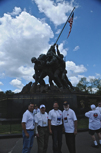 IWO JIMA MEMORIAL by Ron Buteau