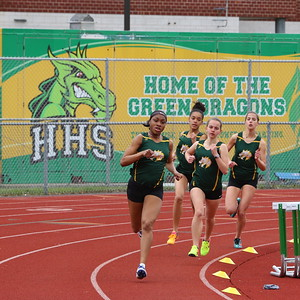 Girls Outdoor Track 2018