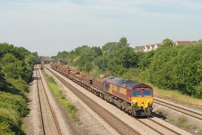 DBS EWS Steel Trains