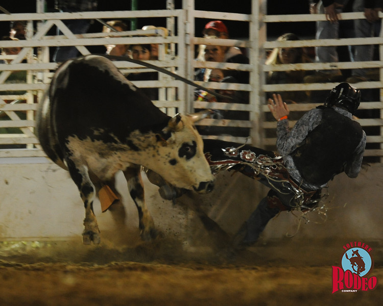 Bull riding event - Southern Rodeo Company May 1, 2015