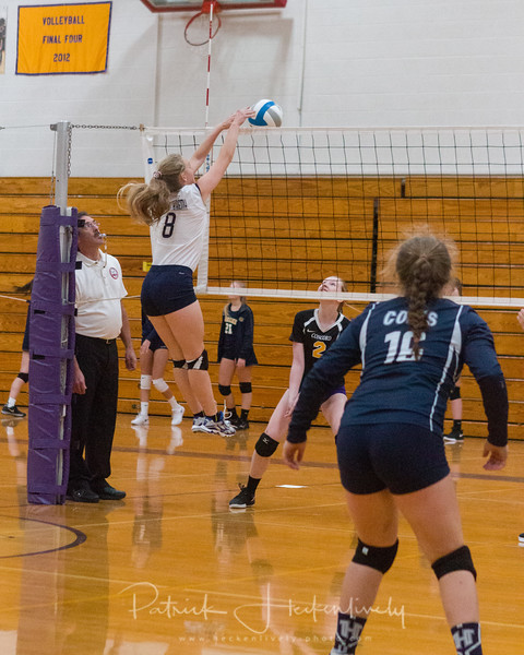2018-09-27 Hillsdale Academy Varsity Volleyball at Concord Tournament