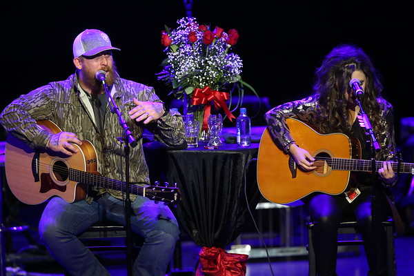 Mark Chestnutt and Lorrie Morgan RAW 11/3/19