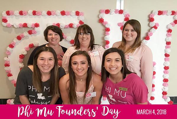 2018-03-04 Phi Mu Founders Day
