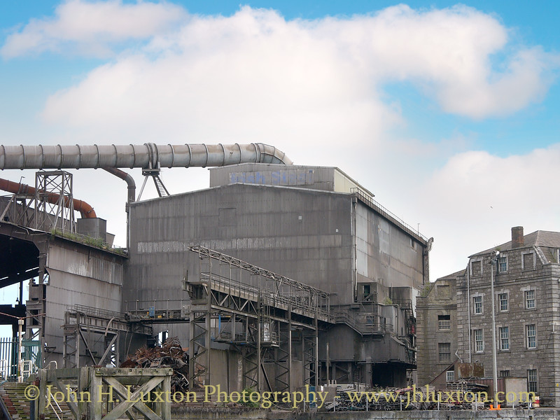 Irish Steel, Haulbowline Island, Cóbh, County Cork, Eire - July 29, 2006