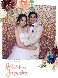 Wedding of Patten and Jacqueline