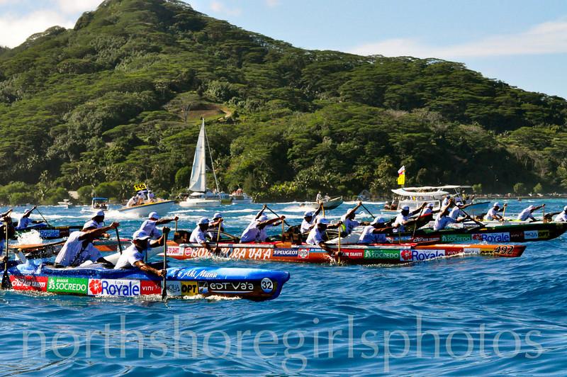 Hawaiki Nui Va'a Race