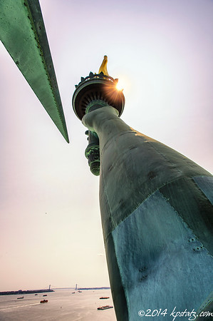 Statue of Liberty - Visit to the Crown