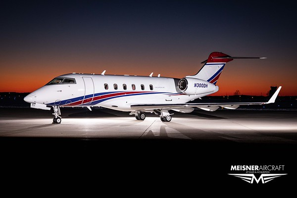 Challenger 300 N300DH (Low Res w/Logo)