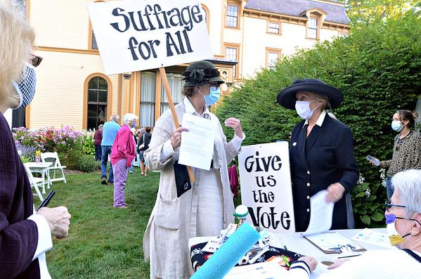 Suffragist Centennial celebration - 082620