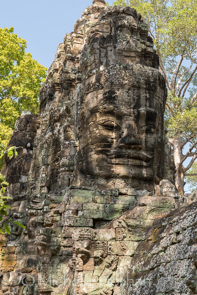 Victory Gate, Angkor Park, Siem Reap, Cambodia