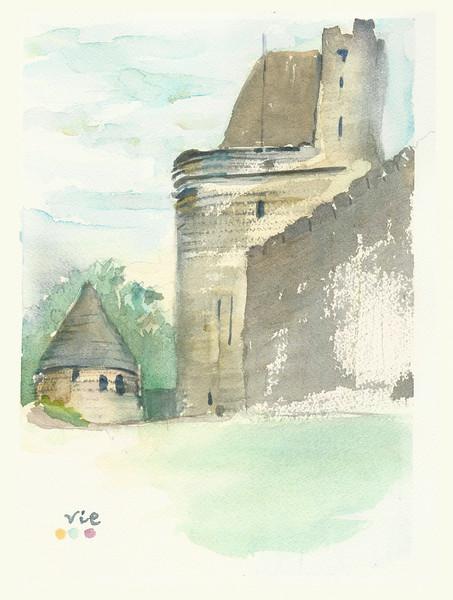 No.239 Une forteresse médiévale.jpg