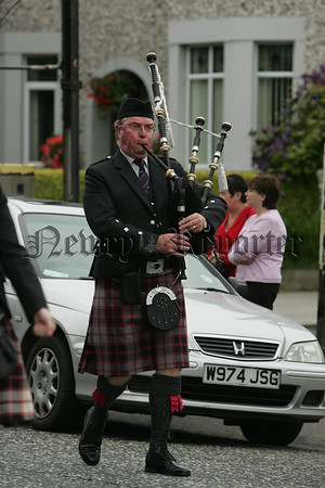 David Hanna MBE pictured at the 12th parade in Newry. 07W29N6