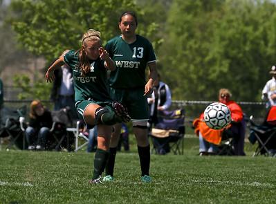 Zeeland East vs Zeeland West Girls Soccer