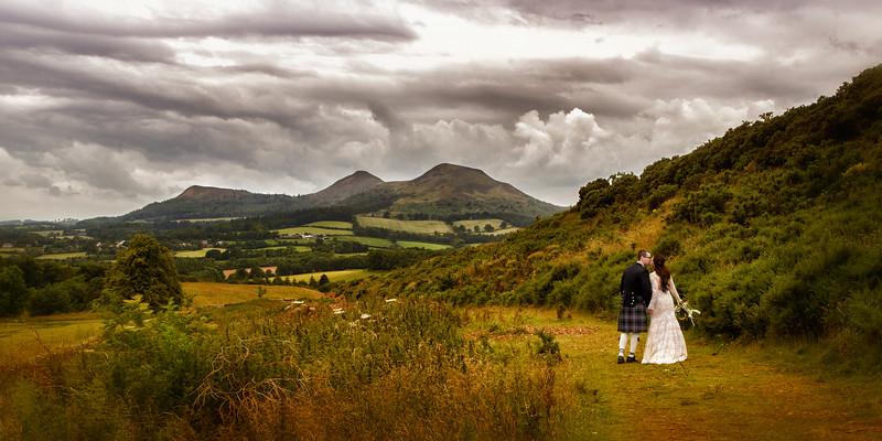 Eildon Hills Wedding
