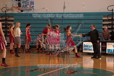 Varsity Girls Basketball 13Jan14