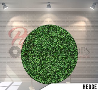 Circle Display 7ft. (Hedge Wall)