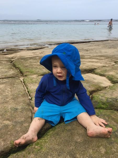 Leif at Ke'e Beach