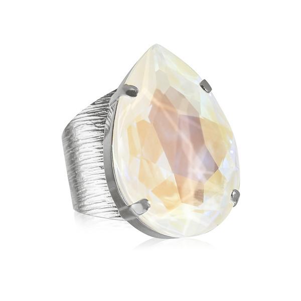 Perfect Drop Ring / Light DeLite Rhodium