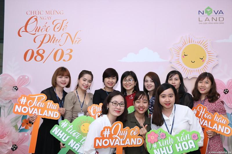 Novaland Group   Nguyen Du Office International Women's Day instant print photo booth in Ho Chi Minh City   Chụp hình lấy liền Sự kiện 8/3   Photobooth Saigon