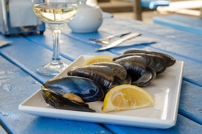 Super fresh mussels