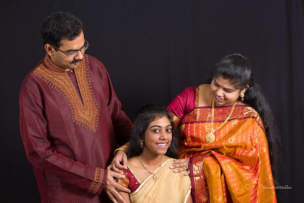 Kavitha Saravanan Family