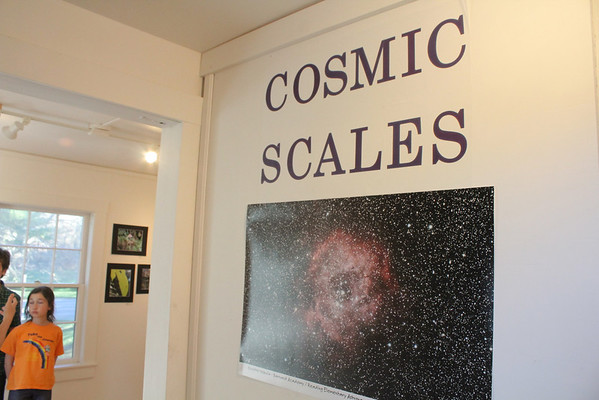 'Cosmic Scales' WES Student Gallery at ArtisTree