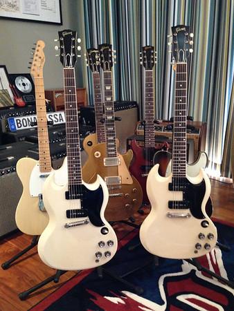 1963 Polaris White Gibson SG