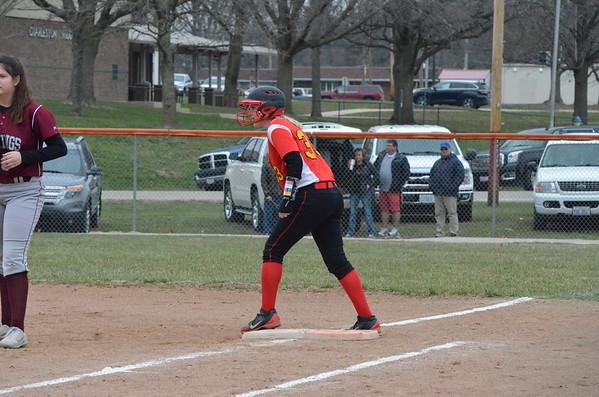 CHS Softball Varsity/JV vs Danville 3/23/18