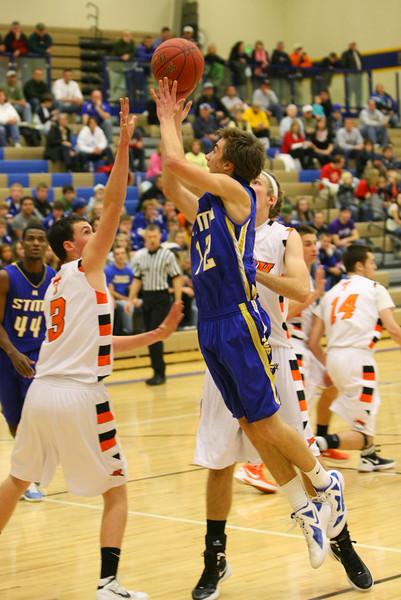 STMA Boys Basketball 2011-12