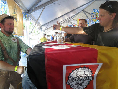 Mountain View Oktoberfest 2013 - Presented by Steins and Tied House
