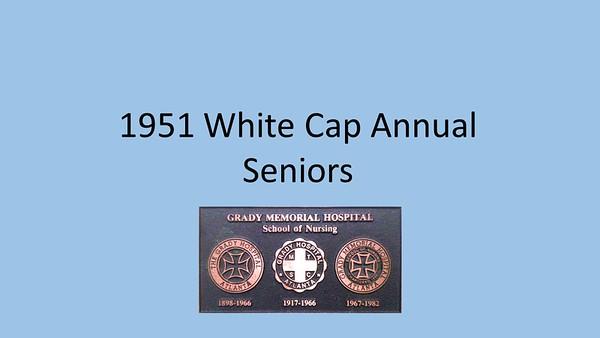 1951 White Caps Yearbook