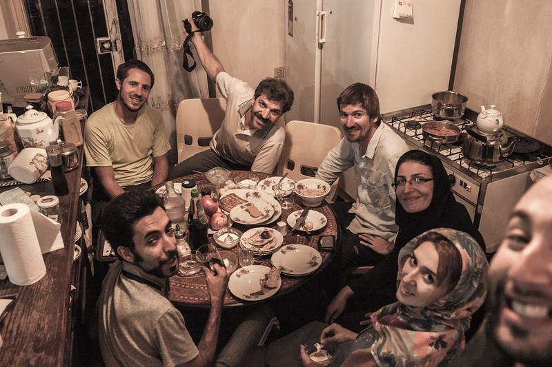Tehran time, good time. Iran