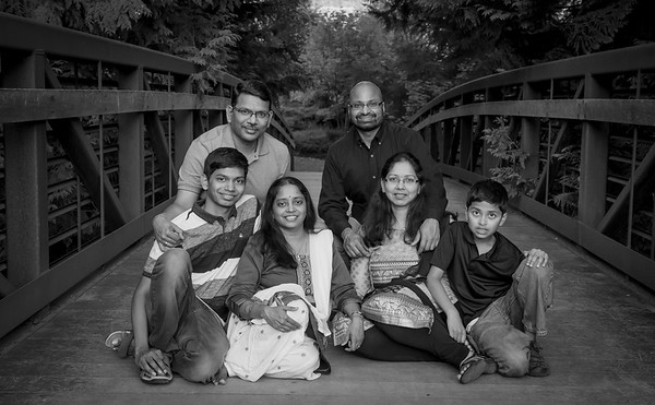 M's family portrait