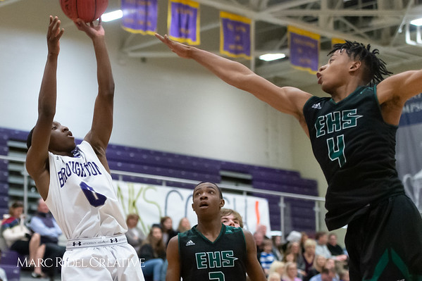 Broughton boys varsity basketball vs Enloe. February 19, 2019. D4S_0177