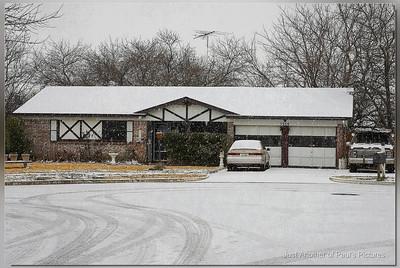 Texas Snow?