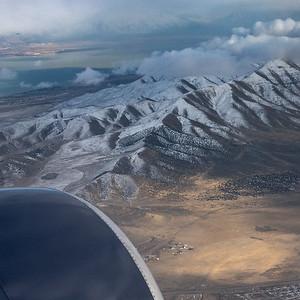 Flying to Salt Lake City