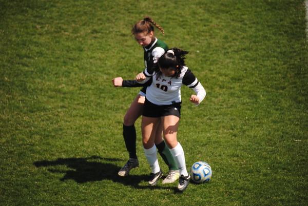 LFA Girls Varsity Soccer vs Bishop McNamara