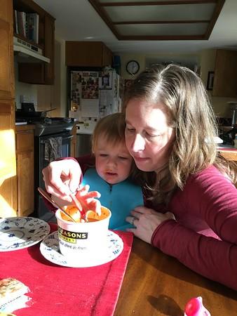 Anna's 2nd Birthday, January 2016