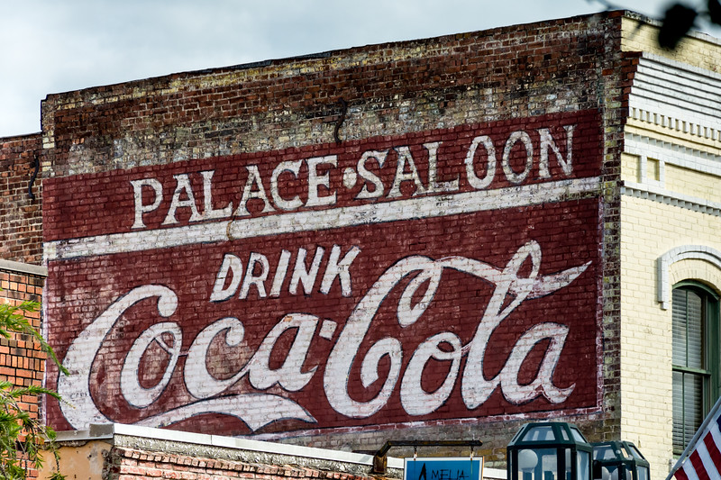 FL, Fernandina Beach - Coca-Cola Wall Sign 02