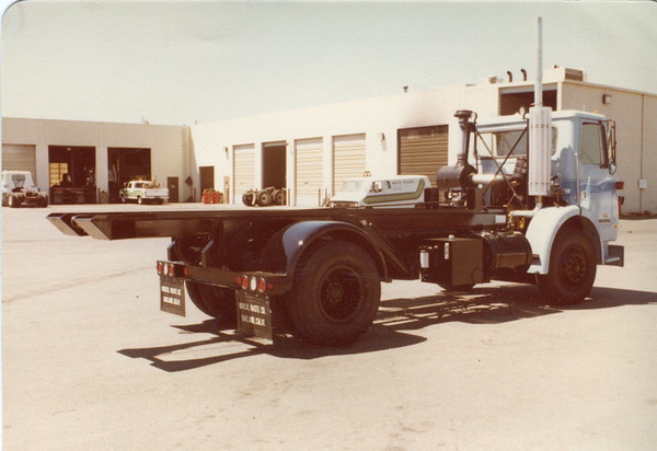 Two Axle Roll Off