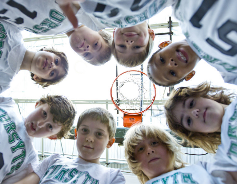 Second Grade Basket Ball 2-26-2011