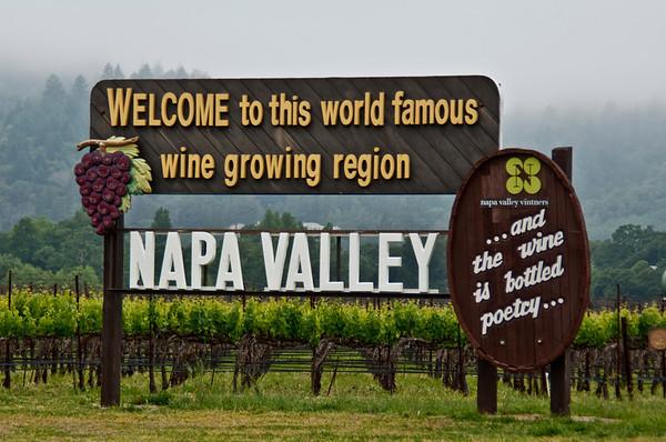 Napa Valley Winery Entrances
