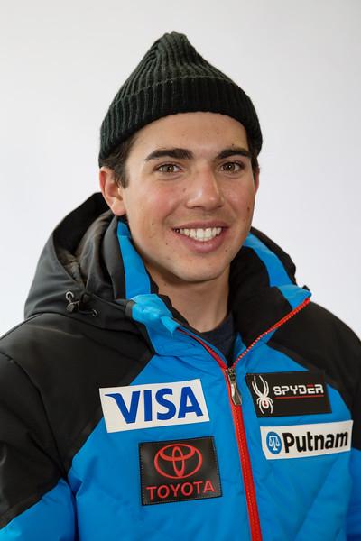 Andrew Miller 2017-18 U.S. Alpine Ski Team  Photo: U.S. Ski & Snowboard