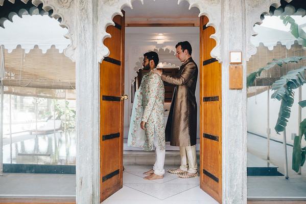 Getting Ready - Shashin - Indian Ceremony