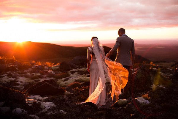 Emma + Stephen - Tongariro Wedding Photography