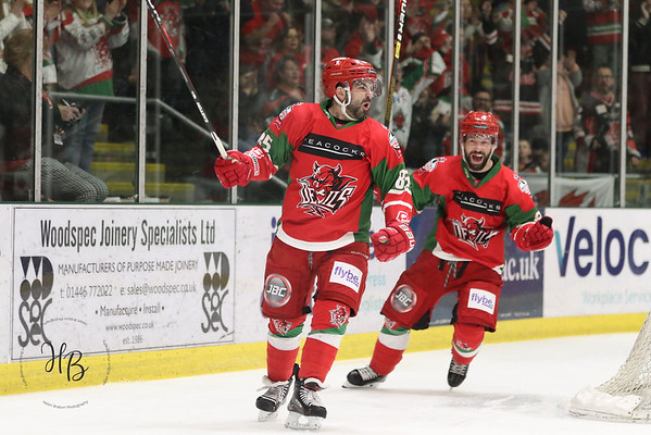 Cardiff Devils vs Sheffield Steelers POQF 07-04-19
