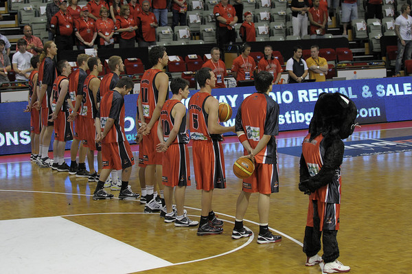 Perth Wildcats vs Gold Coast Blaze 28/11/2009
