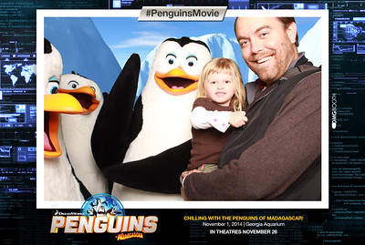 2014.11.01 Penguins of Madagascar at Ga Aquarium