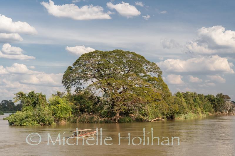 Mekong Views from Don Dhet, Laos